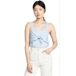 Madewell | Tie Front Chambray Camisole